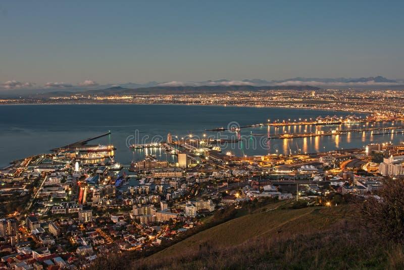 Ville de Capetown images libres de droits