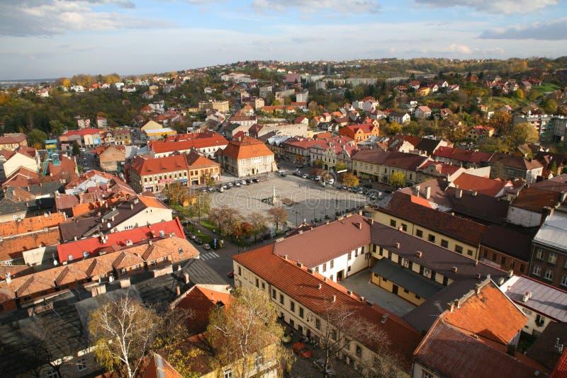 ville de centre de bochnia photographie stock libre de droits