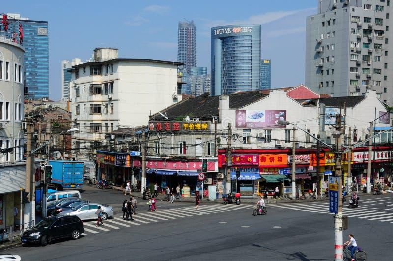 Ville de Changhaï photographie stock libre de droits