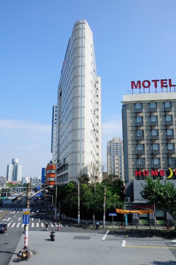 Ville de Changhaï image libre de droits
