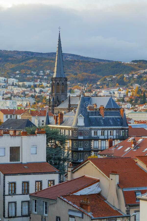 Ville de Clermont-Ferrand image libre de droits