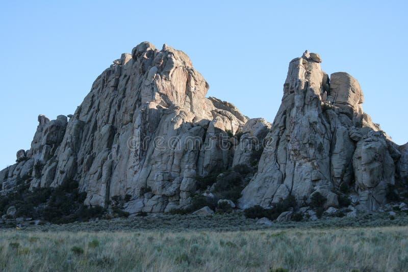Ville de conserve nationale de roches, Idaho photographie stock libre de droits