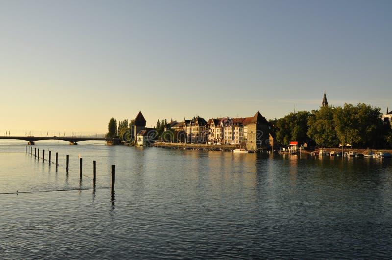 Ville de Constance, Bodensee, Allemagne photo stock