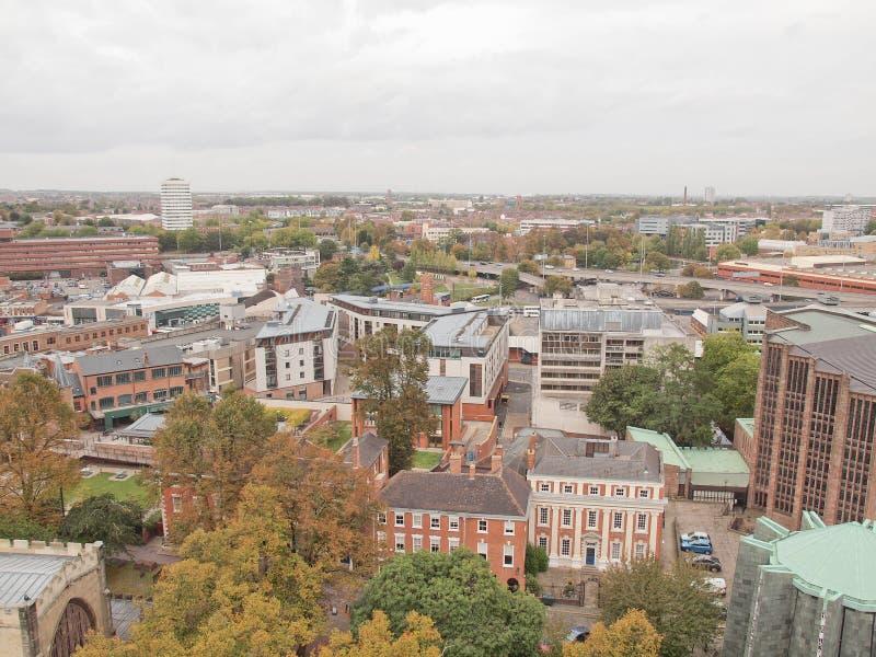 Ville de Coventry image libre de droits