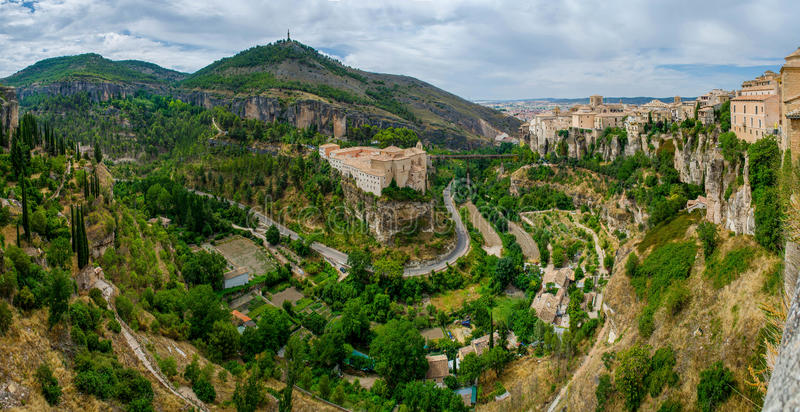 Ville de Cuenca, La Mancha, Espagne de la Castille photo stock