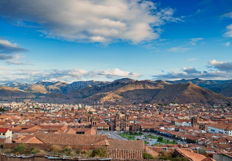 Ville de Cuzco photo stock