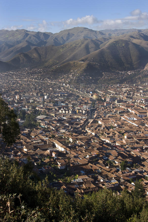 Ville de Cuzco au Pérou photos libres de droits