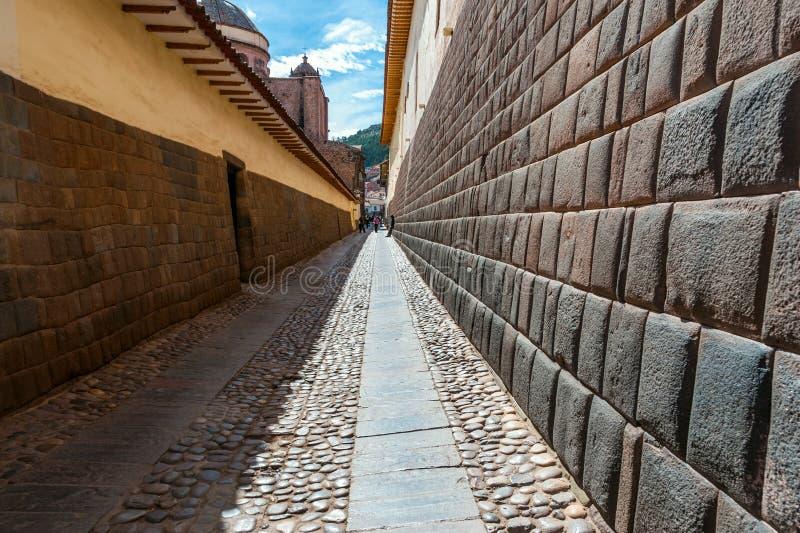 Ville de Cuzco au Pérou photographie stock