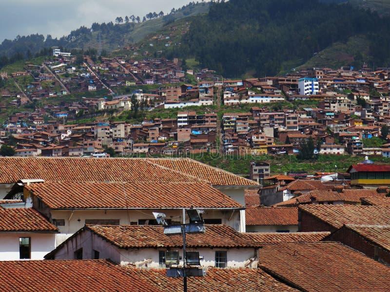 Ville de Cuzco au Pérou images stock