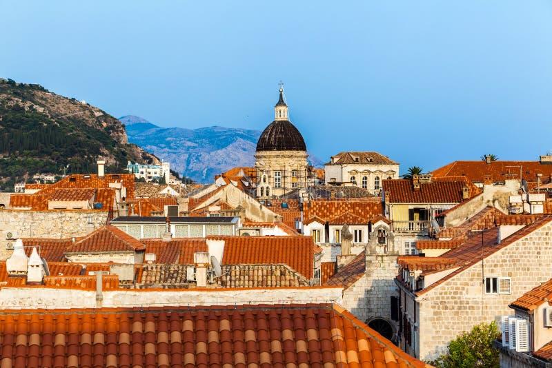 Download Ville De Dubrovnik En Croatie Image stock - Image du forteresse, été: 77161785