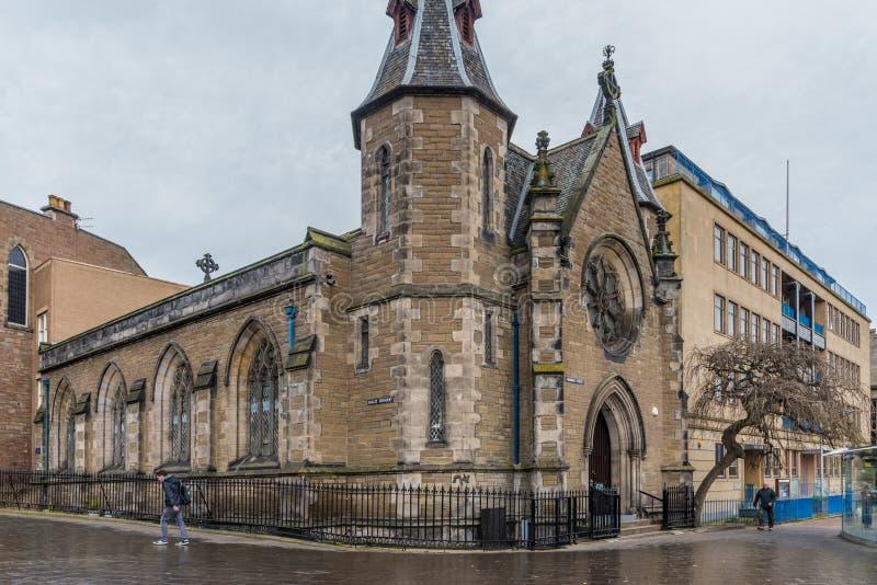 Ville de Dundee d'église de St de Panmure et de St d'Euclid images libres de droits