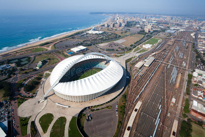 Ville de Durban images libres de droits