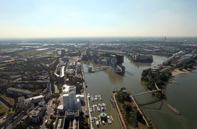 Ville de Dusseldorf, Allemagne images stock