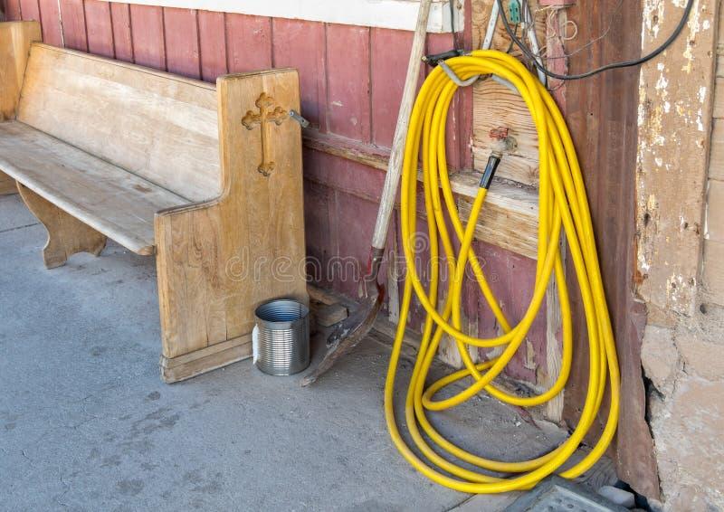 Ville de extraction historique, Oatman Arizona image libre de droits