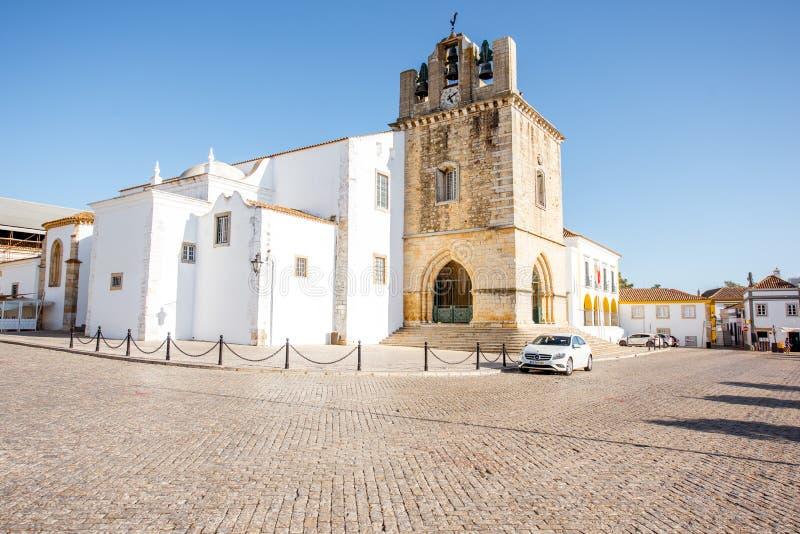 Ville de Faro au Portugal image libre de droits