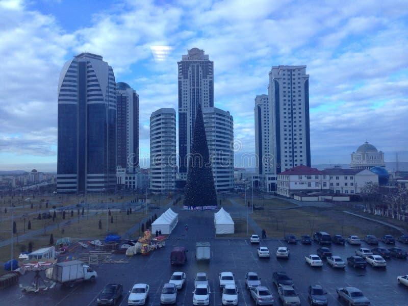Ville de Grozni photo libre de droits
