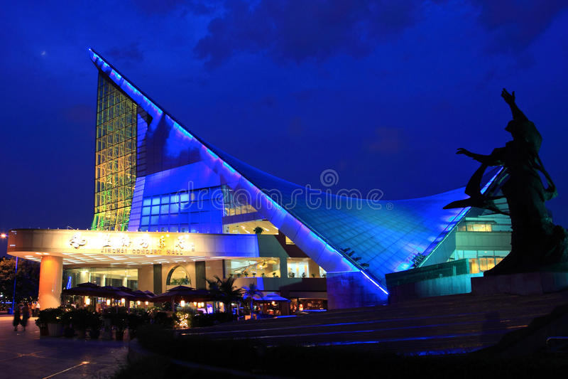 Ville de Guangzhou, Chine image libre de droits