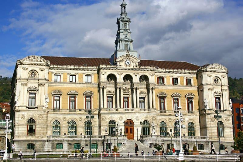 ville de hall de Bilbao photos libres de droits
