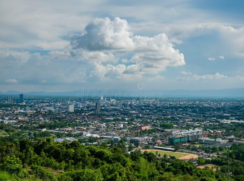 Ville de Hat Yai, province de Songkhla en Thaïlande image libre de droits