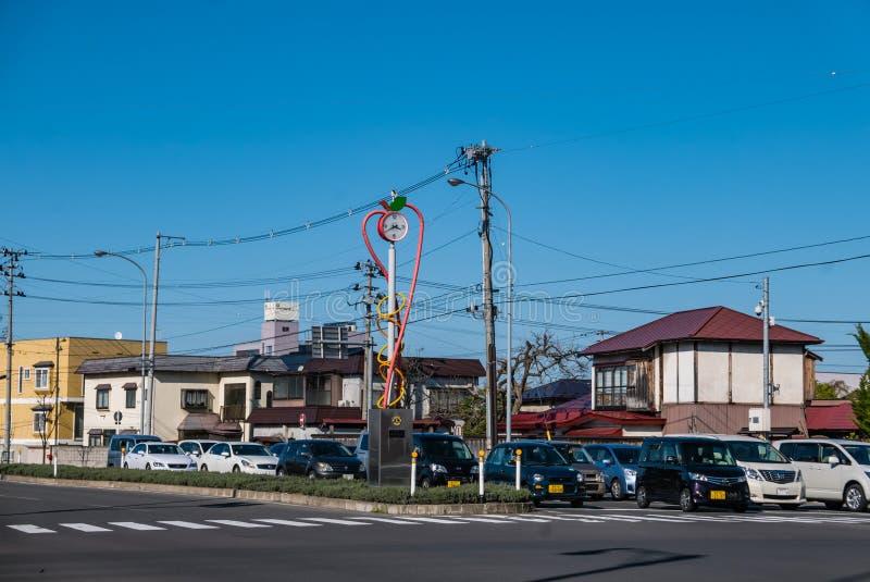 Download Ville de Hirosaki image stock éditorial. Image du représentation - 76089859