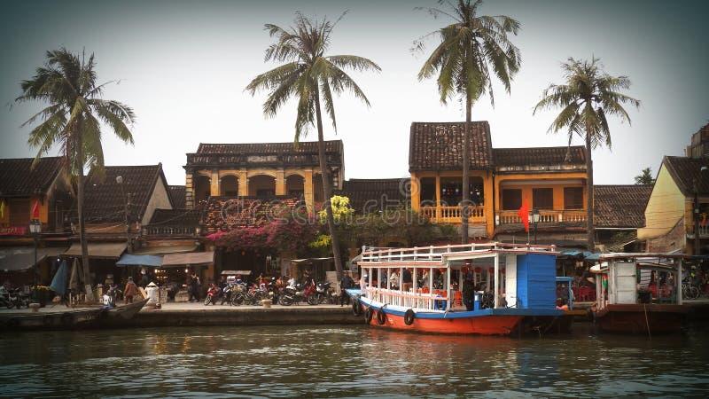 Ville de Hoi An des lanternes au Vietnam image libre de droits