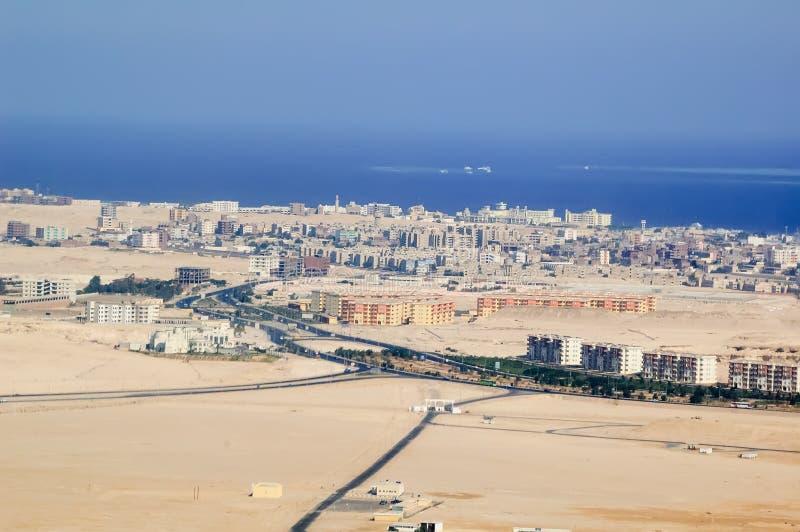 Ville de Hurghada image libre de droits