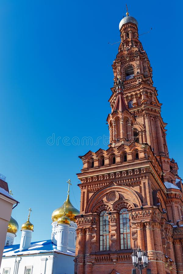 Ville de Kazan, Russie photographie stock libre de droits