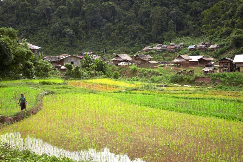 Ville de Khamu image libre de droits