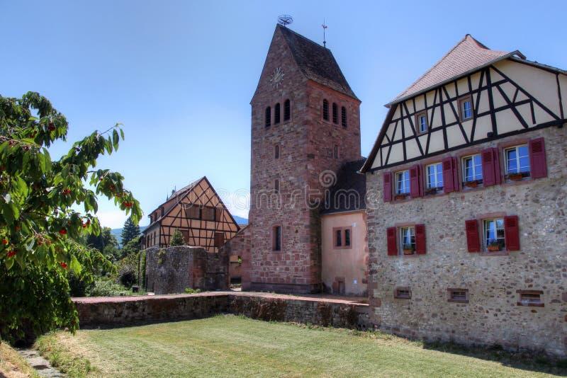 Ville de Kientzheim images libres de droits