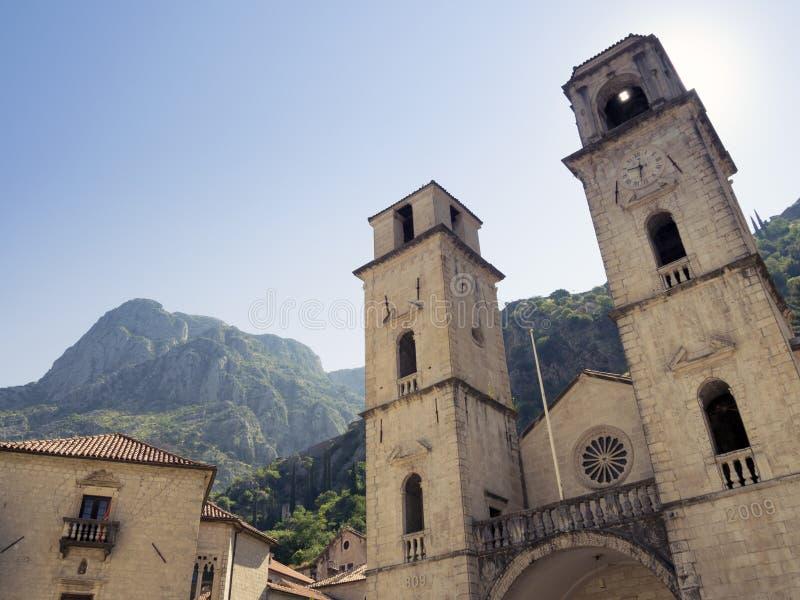 Ville de Kotor, Monténégro image libre de droits