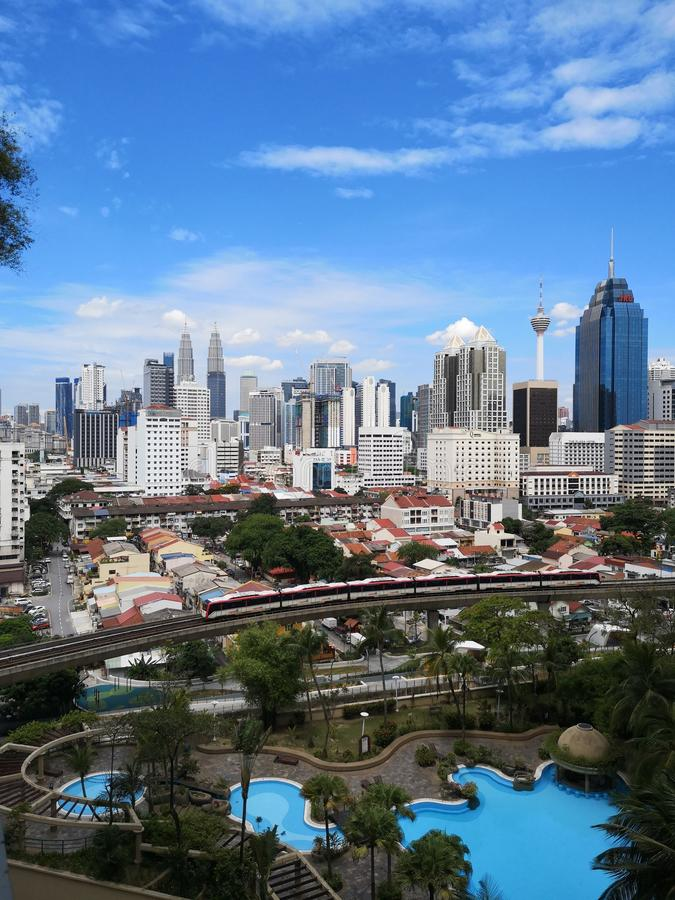 Ville de Kuala Lumpur photo stock