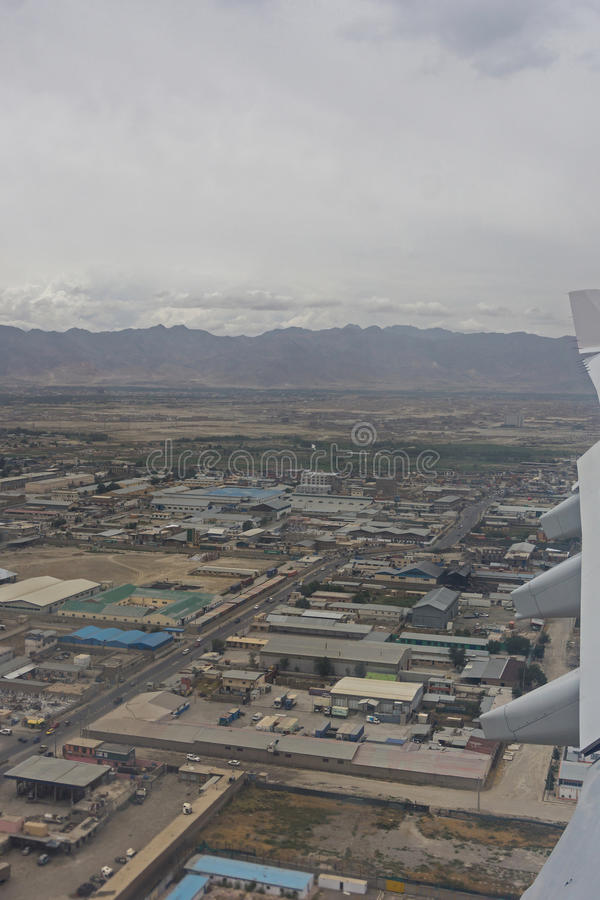 Ville de l'Afghanistan Kaboul images libres de droits