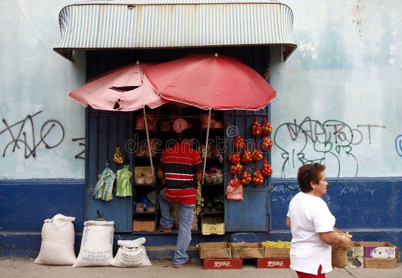 VILLE DE L'AMÉRIQUE DU SUD VENEZUELA TRUJILLO images stock