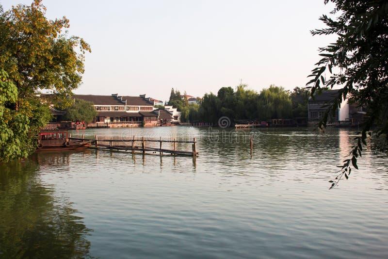 Ville de l'eau, Chine image libre de droits