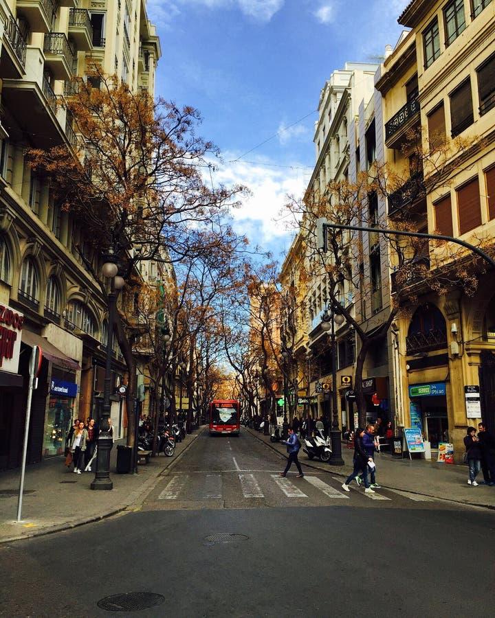 Ville de l'Espagne, Valence photos stock