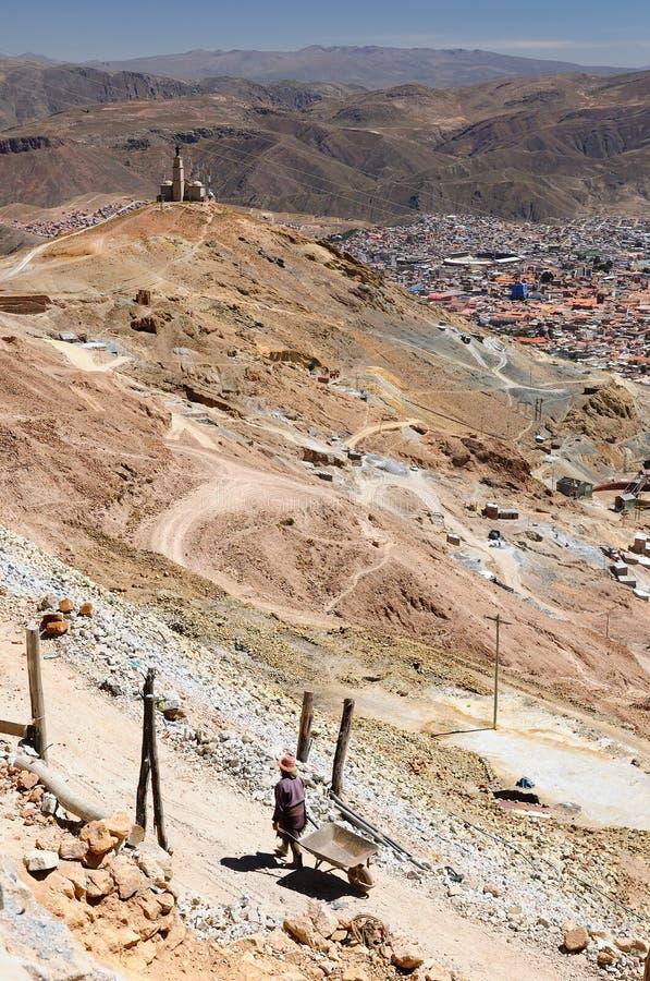 Ville de la Bolivie, Potosi image libre de droits