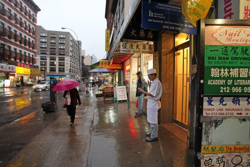 Ville de la Chine, NYC, Etats-Unis images libres de droits