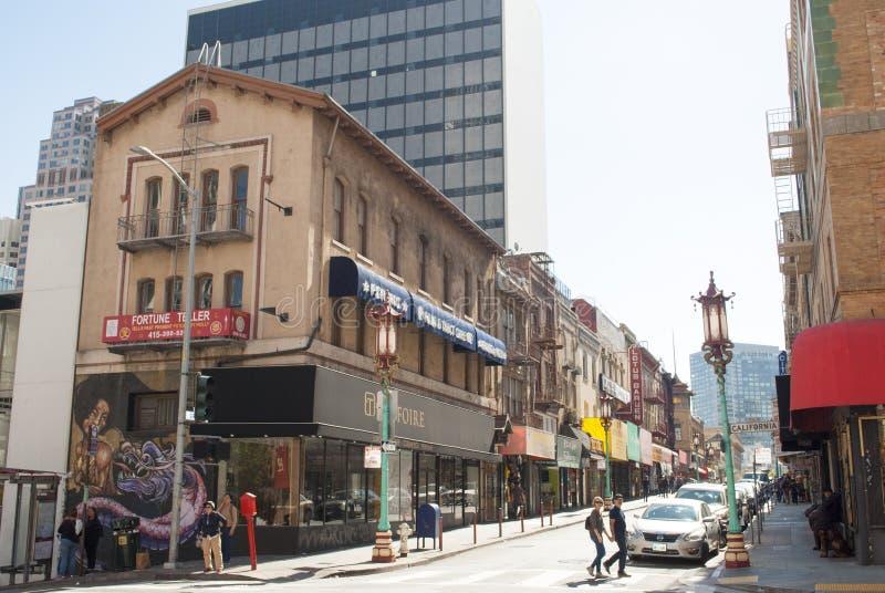 Ville de la Chine, vieux Changhaï, San Francisco image stock