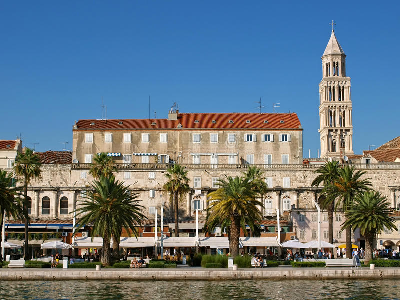 Ville de la Dédoubler-Croatie photos stock