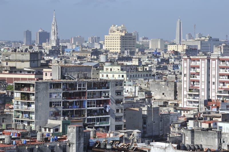Ville de La Havane, Cuba image libre de droits