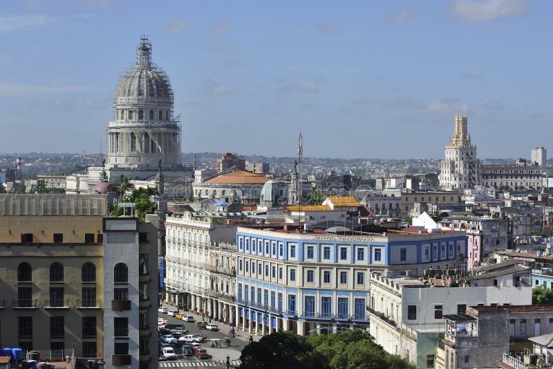 Ville de La Havane, Cuba image stock