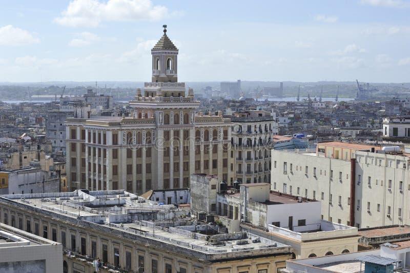 Ville de La Havane, Cuba images libres de droits