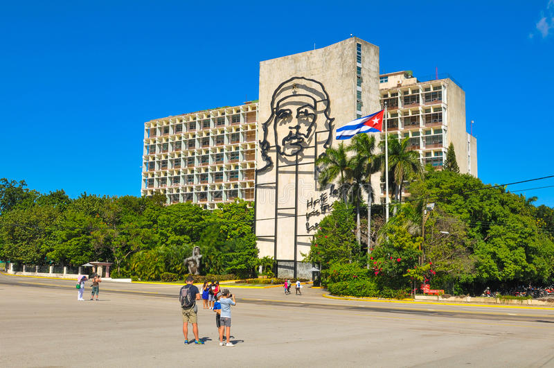 Ville de La Havane, Cuba photo stock
