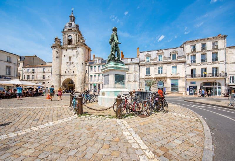 Ville de La Rochelle dans les Frances photographie stock