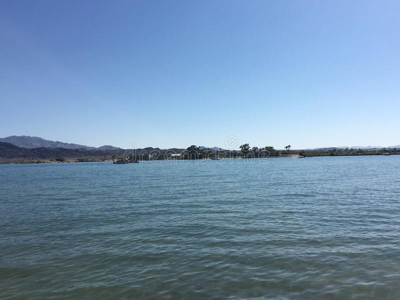 Ville de Lake Havasu, Arizona photos libres de droits