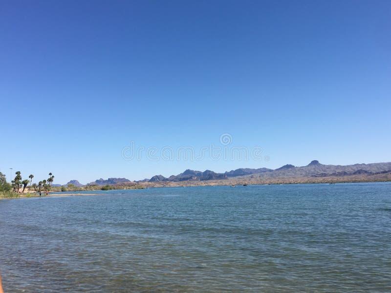 Ville de Lake Havasu, Arizona photographie stock libre de droits