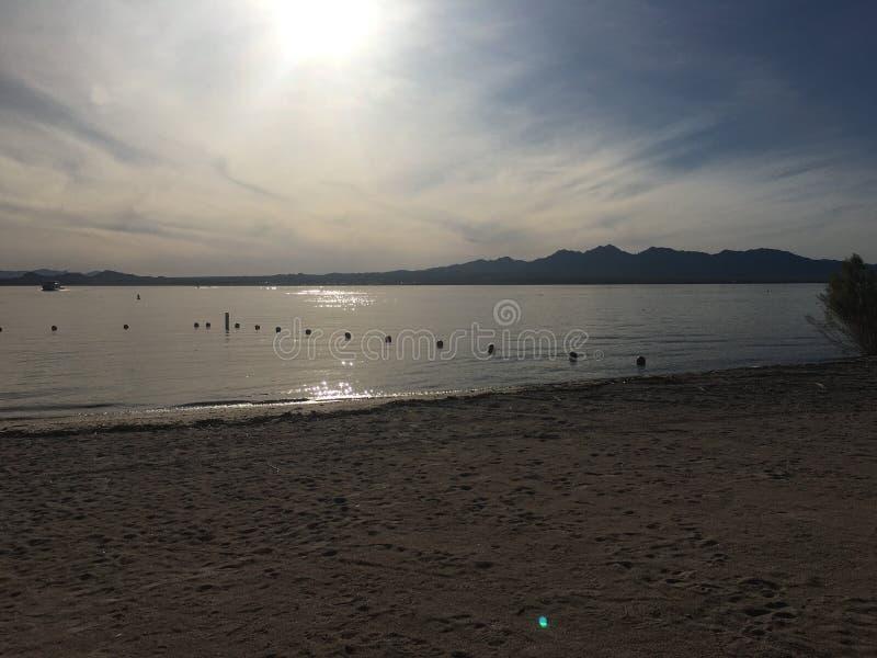 Ville de Lake Havasu, Arizona photographie stock