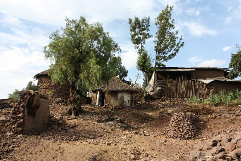 Ville de Lalibela photos libres de droits