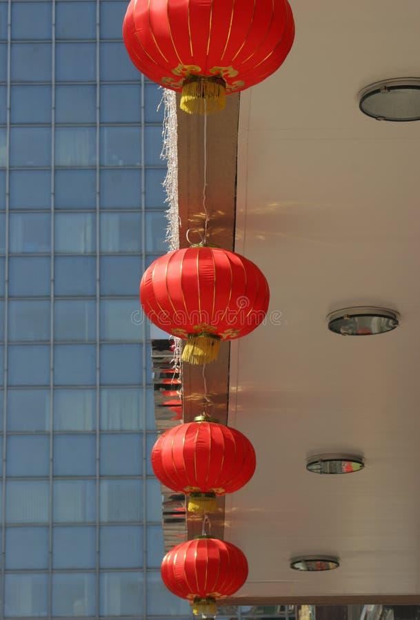 Ville de lanterne photo libre de droits