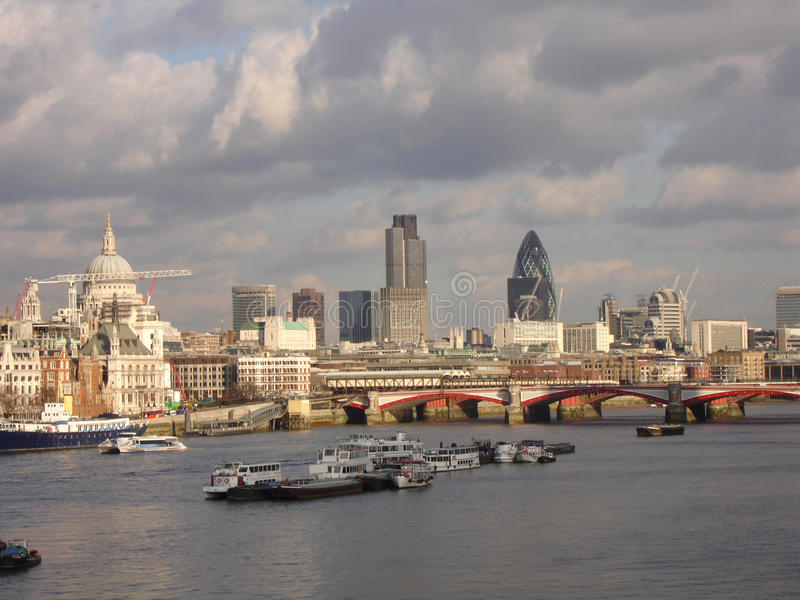 Ville de Londres photographie stock